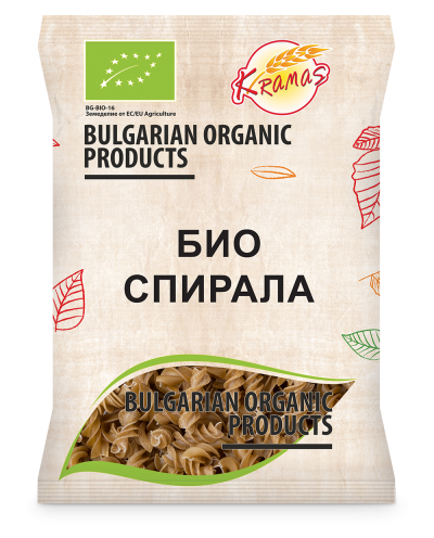 Bio pasta from wheat flour