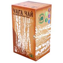 Chaga mushroom tea with cocoa beans