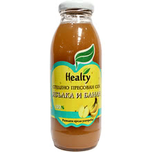 "Juice ""Healty"" banana and apple"