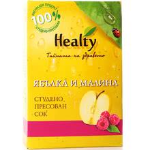 "Сок ""Healty"" ябълка и малина"