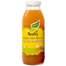 "Juice ""Healty"" apple and carrot"