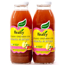 "Juice ""Healty"" apple and strawberry"