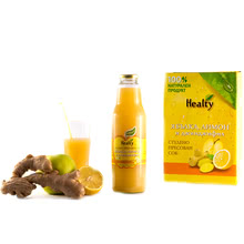 "Juice ""Healty"" apple,lemon and ginger"