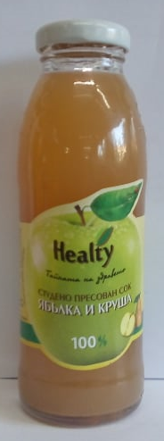 "Juice ""Healty"" apple and pear"