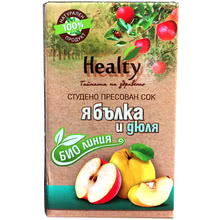 "Bio juice ""Healty"" apple and quince"