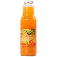 """Био сок """"Healty"""" ябълка и морков"""