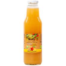 """Био сок """"Healty"""" ябълка,лимон и джинджифил"""