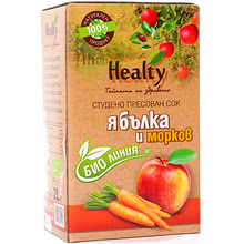 "Bio juice ""Healty"" apple and carrot"