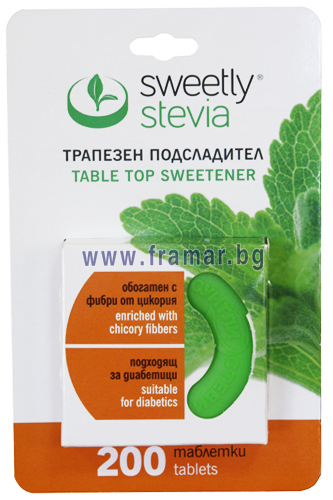 """Sweetly Stevia"" - 200 tablets"