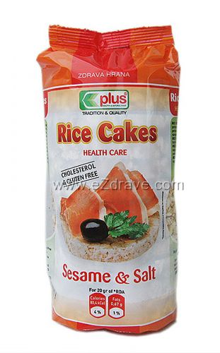 Оризовки със сусам и сол 100 гр.