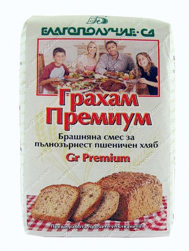 Powdery mixture of whole wheat bread - 500 g