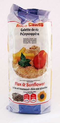 Rice Cakes Flax & Sunflower - 100g