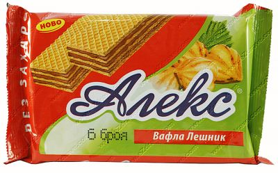 Dietary Alex hazelnut wafer 150 g