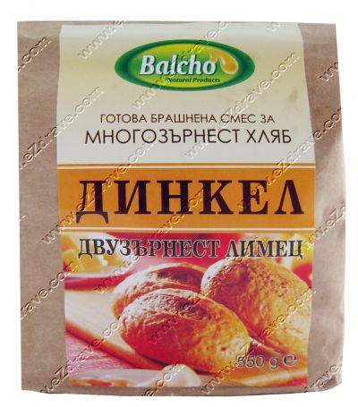 Готова брашнена смес за многозърнест хляб Динкел 550 гр. - Балчо