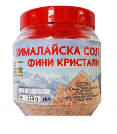 Himalayan fine salt