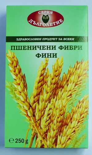 Natural fine wheat fiber