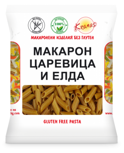 Macaroni from buckwheat and corn flour