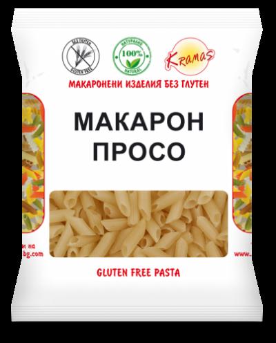 Macaroni from millet flour