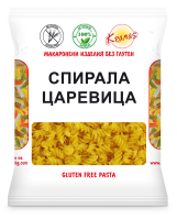 Pasta from corn flour