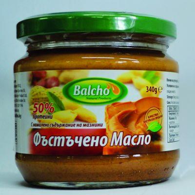 """Фъстъчено масло с намалени мазнини """"Балчо"""""""